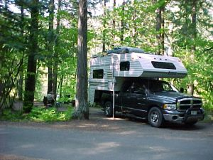 Hoover Campground - Willamette NF, Santiam River, Detroit Lake, Central Oregon