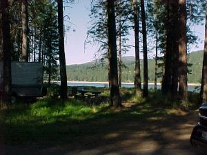 Kettle Falls Campground - Roosevelt National Park Rec Area