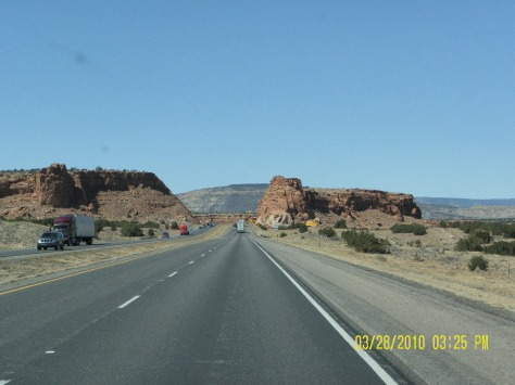 I-40 - around Albuquerque