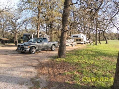 Yegua Creek Campground - Sites 40 and 41