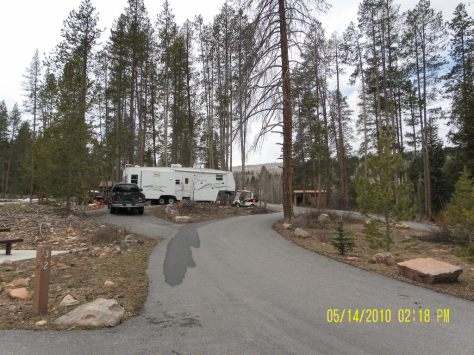 Campground Host Site #31 - Lodgepole Campground