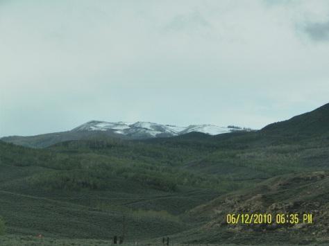 Snow-capped peaks June 12, 2010