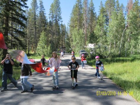 Lodgepole Parade - Gaining Momentum