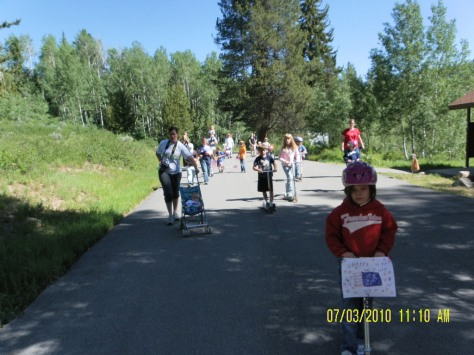 Lodgepole Parade - Strollers