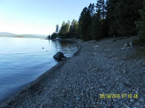 Sam Owen Campground Beach