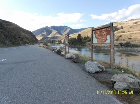 Salmon River at Lucile, ID