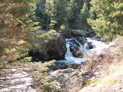 Waterfall on the Little Salmon River