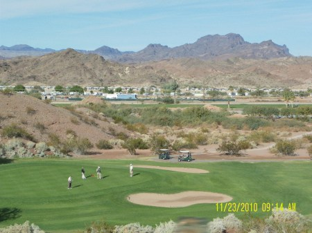 Golf Course on the Parker Strip