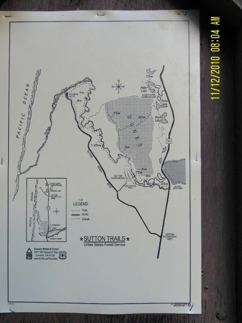 Sutton Creek Trail Map