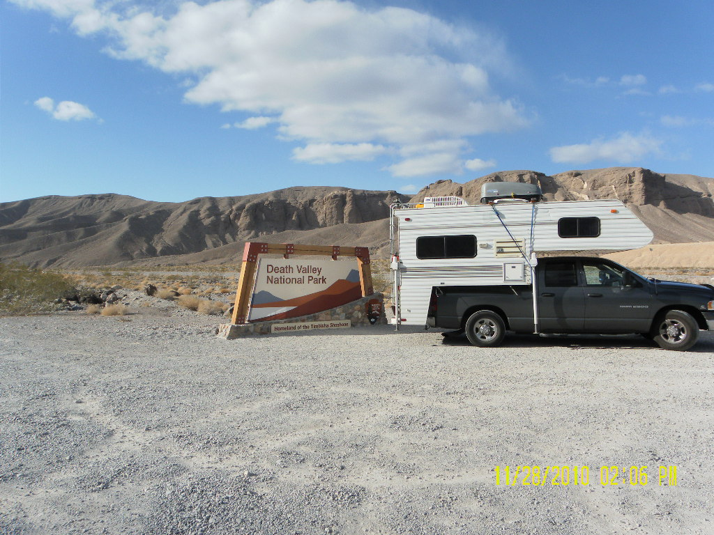 Death Valley National Park California Campgrounds