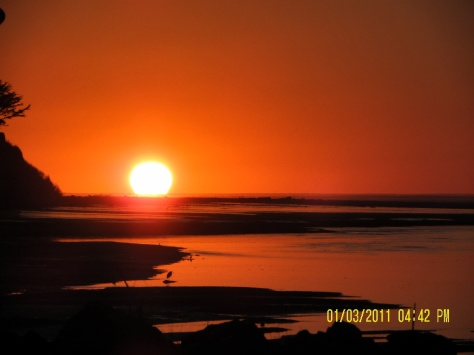 Alsea Bay Sunset