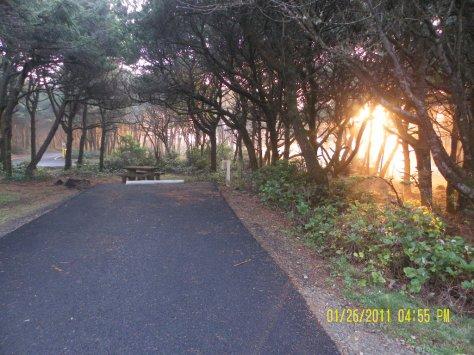 Tillicum Sunset from Site 1