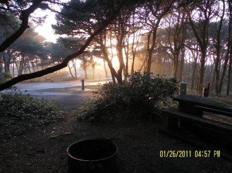 Tillicum Sunset from Site 20