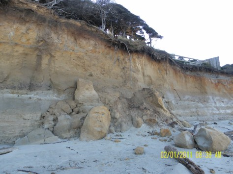 Tillicum Beach Cliff
