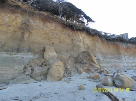 Tillicum Beach Cliff