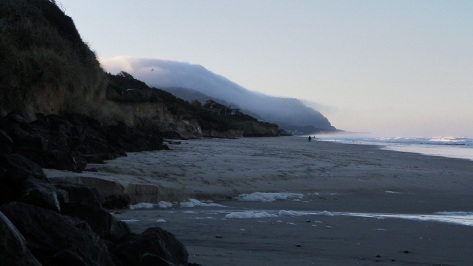 Fog over Yachats