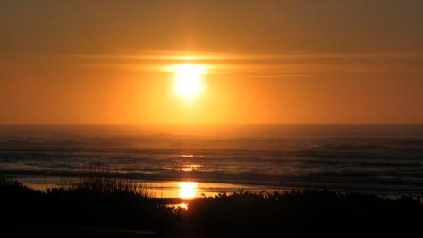 Sunset from Tillicum Campground