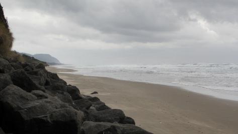 Stormy Tillicum Beach