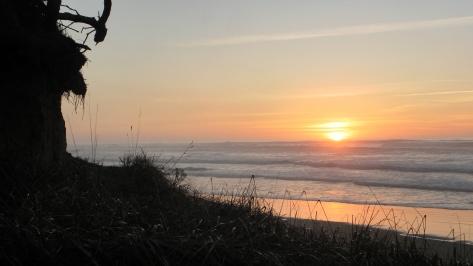 Dusk at Tillicum Beach