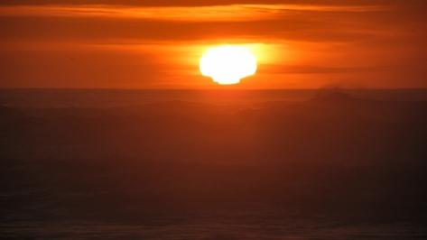 Oddball shaped sun