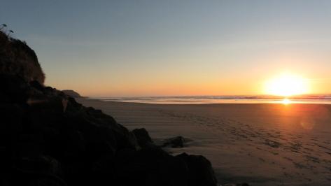 Winter Solstice on Tillicum Beach