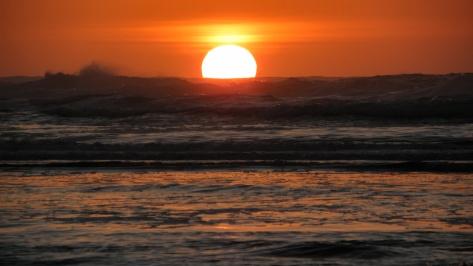 Winter Solstice Sunset - Tillicum Beach