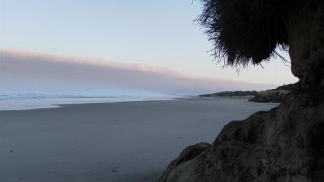 Marine Layer on Tillicum Beach
