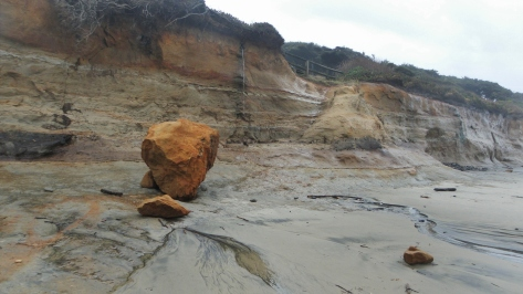 Damaged Shoreline - Jan 25, 2012