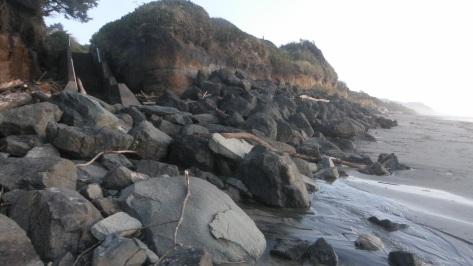 Rock Climbing to the beach