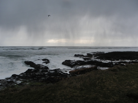 Rain Showers Coming to Yachats