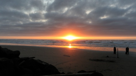 Romantic Tillicum Sunset