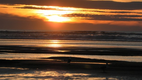 February Sunset - Tillicum Beach