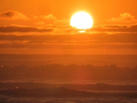 Choppy Sunset