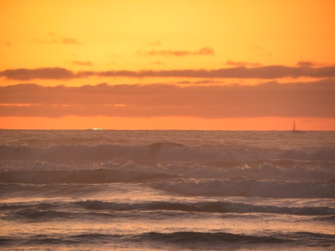 Green Flash - Click on image to enlarge