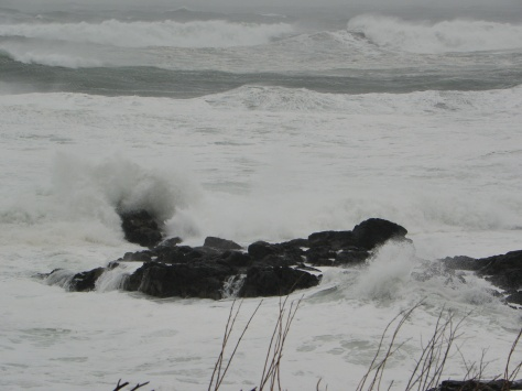 High Surf - Yachats State Park
