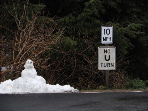 Tillicum Snowman