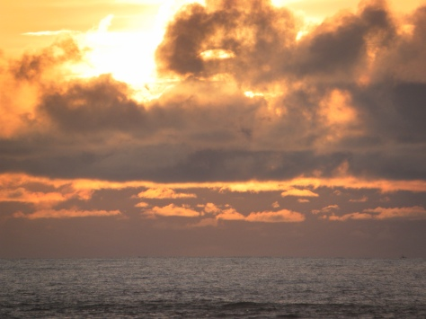 Closeup Sunset
