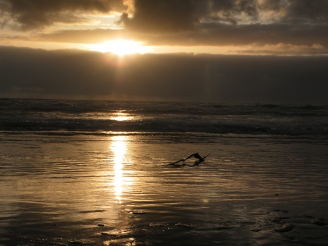 Sepia Sunset