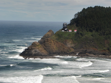 Heceta Head Lighthouse overlook