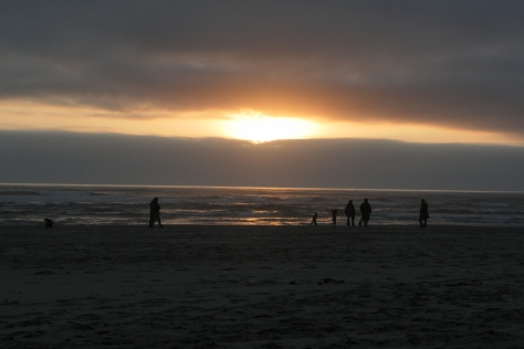 Tillicum Beach - Sunset Crowd