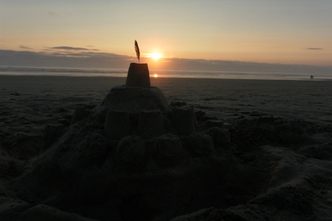 Sand Castle on Tillicum Beach
