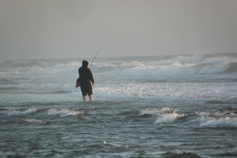 Surf Fishing on Tillicum Beach