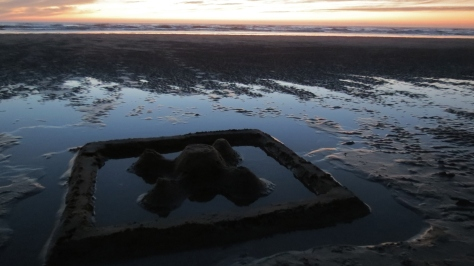 Flooded Sand Castle