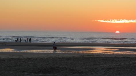 Tillicum Camping Sunset