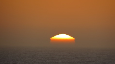 Green Flash on Top