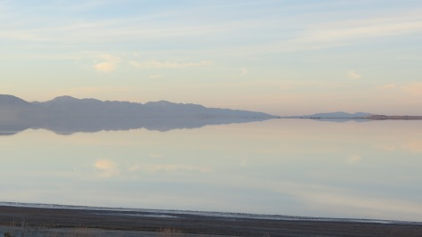 Antelope Island Promontory Reflection