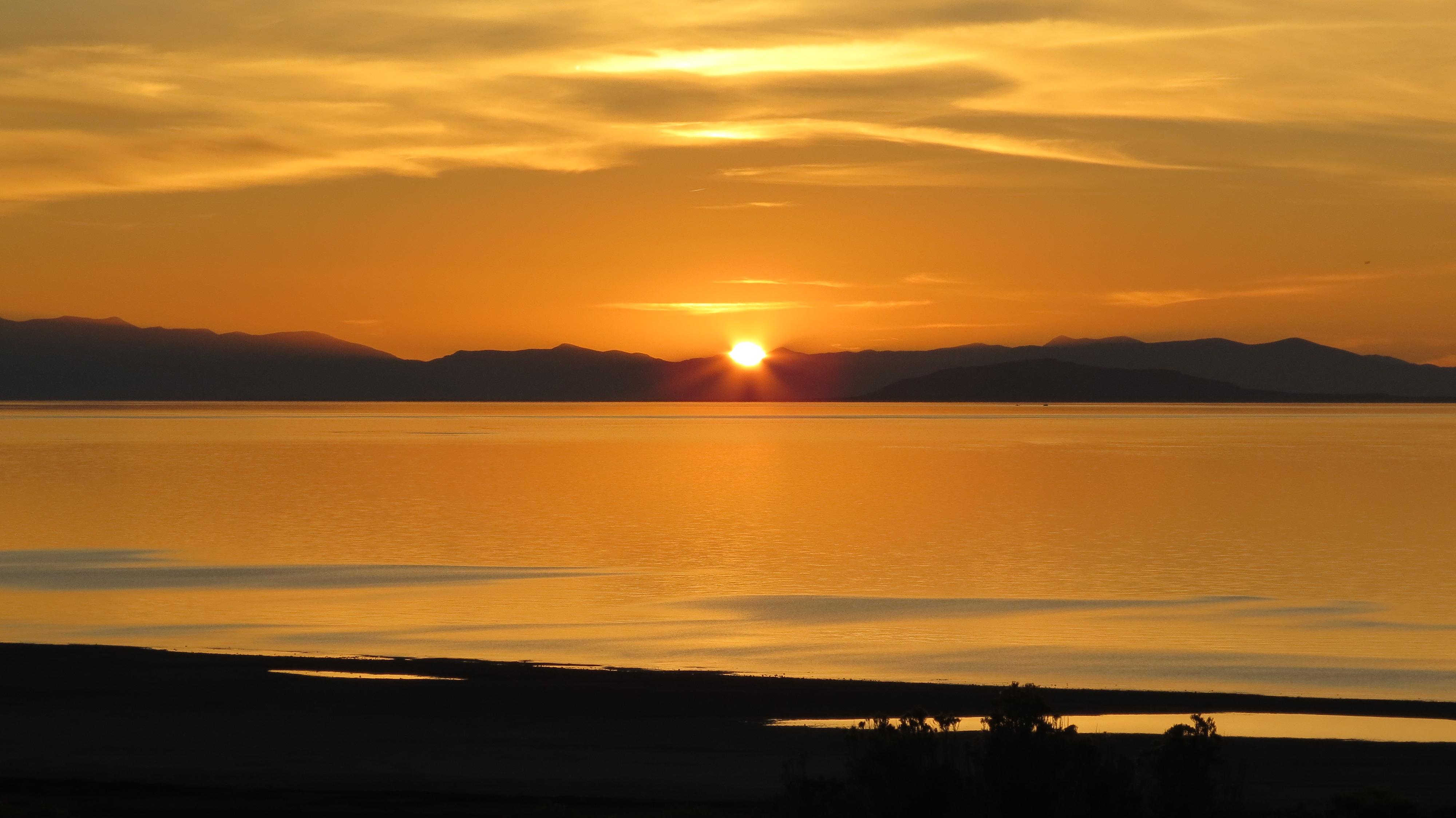 Antelope Island Sunset   Pamperingcampers Blog