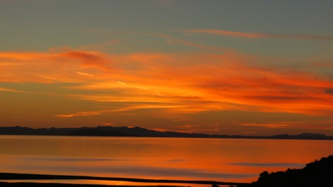Antelope Island Sunset Colors