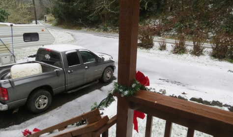 Snow in Tidewater