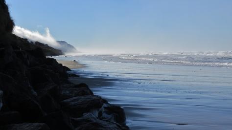 December High Tide on Tillicum Beach